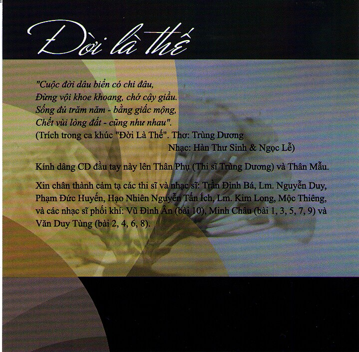 Album Doi La The 2
