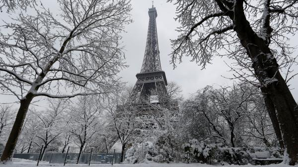 france weather snow